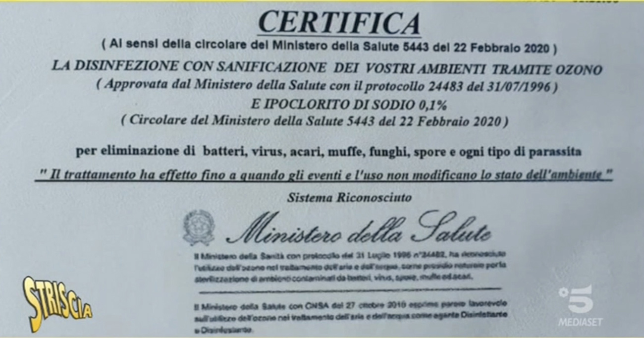 stiscia-certificato-ministero-della-salute-ozono-