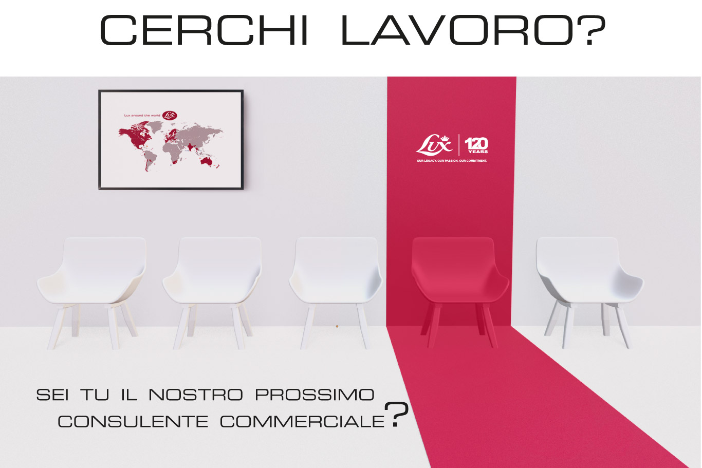 ricerca, lavoro, bergamo, italia, vendita, diretta, consulente, commerciale, lux, ambizione, risultati