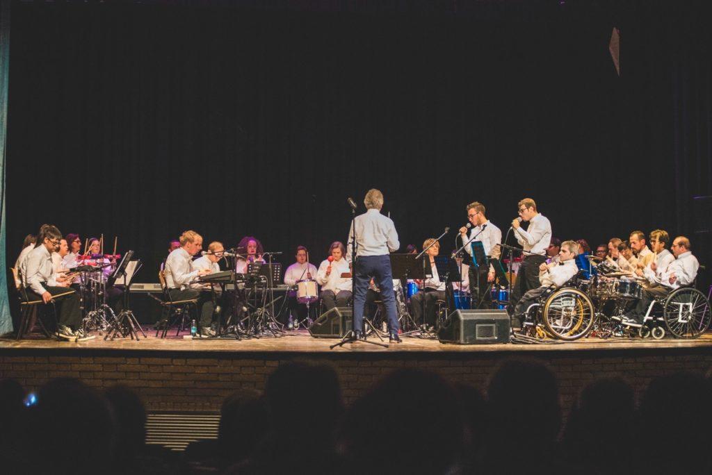 orchestra, magica, musica, donazione